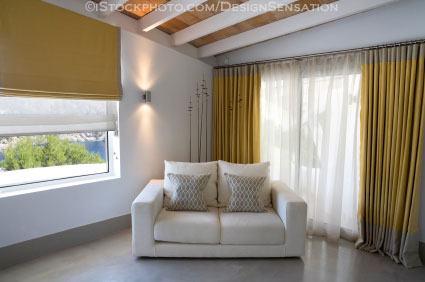 Install New Curtains and Shades